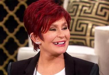 Sharon Osbourne passa vergonha durante programa - Reprodução