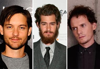 Três atores disputam o papel principal de Homem-Aranha - Getty Images