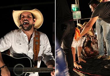 Sorocaba, da dupla com Fernando, cai durante show e vai parar no hospital - AgNews