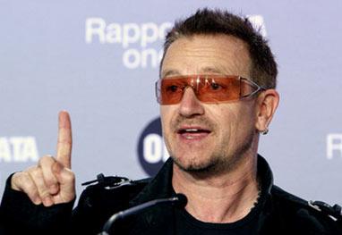 Após acidente, Bono não sabe se voltará a tocar guitarra - Getty Images