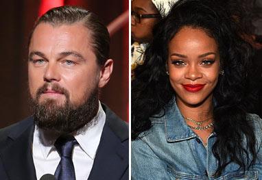 Leonardo DiCaprio e Rihanna estão 'ficando', afirma site - Getty Images
