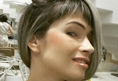 Fani Pacheco retoca a franja e questiona: 'Vou sofrer bullying de novo?' - Reprodução/Instagram