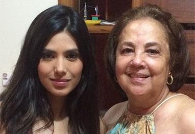 Morre mãe da apresentadora Flávia Noronha - Reprodução/Instagram