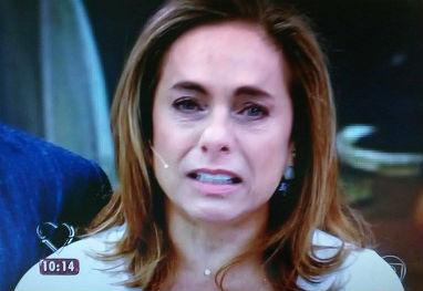 Cissa Guimarães comemora decisão judicial na TV: 'Estou aliviada e agradecida!' - Globo/Reprodução