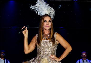 Ivete Sangalo se apresenta no tradicional Baile Vogue - Manuela Scarpa/Photo Rio News