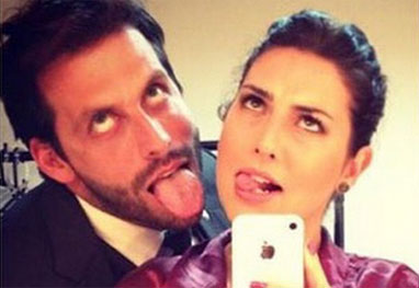 Fernanda Paes Leme dá os parabéns a Henri Castelli - Reprodução/Instagram
