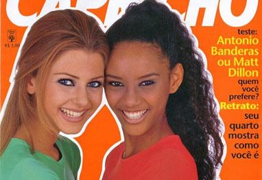 Tais Araújo lembra sua primeira capa de revista, a Capricho, em 1995 - Reprodução/Instagram