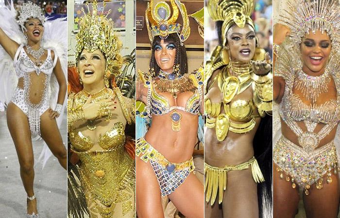 Veja as musas que brilharam no segundo dia de desfiles das Escolas do Rio de Janeiro - Ag.News e Foto Rio News
