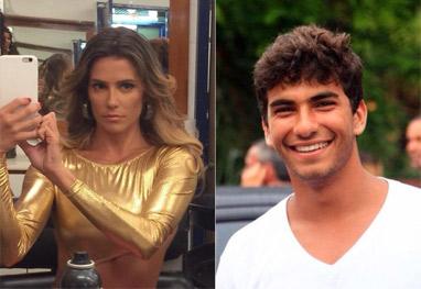Deborah Secco se declara ao novo namorado - Reprodução Facebook
