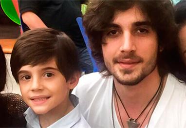 Fiuk participa do aniversário do irmão Záion, filho de Mari Alexandre - Marcos Ribas/Photo Rio News