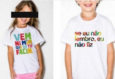 Grife de Luciano Huck assume erro e pede desculpas após camiseta infantil polêmica - Reprodução