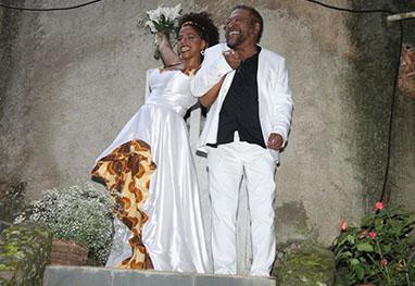 Maíra, filha de Martinho da Vila, se casa em sítio - Claudio Andrade/Foto Rio News