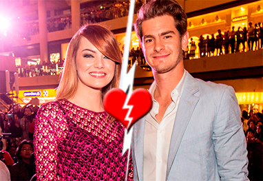 Emma Stone e Andrew Garfield terminam o namoro - Getty Images