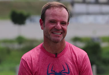 Rubens Barrichello vai apresentar programa no SBT - Reprodução/YouTube