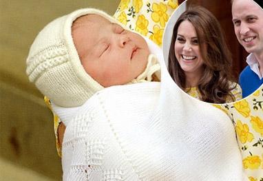 Príncipe William e Kate Middleton divulgam o nome da filha. Saiba qual é! - Getty Images