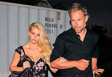 Casamento de Jessica Simpson e Eric Johnson na corda bamba - Grosby Group