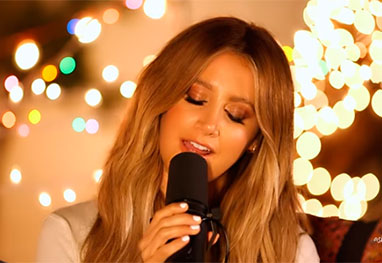 Ashley Tisdale solta a voz no YouTube - Reprodução/Youtube/Instagram/@ashleytisdale
