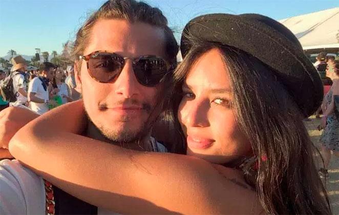 Bruno Gissoni posta primeira foto com Madalena