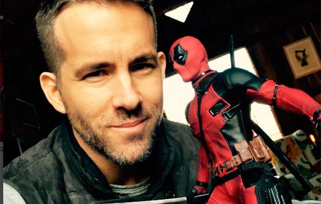 Ryan Reynolds parabeniza equipe de Mulher-Maravilha