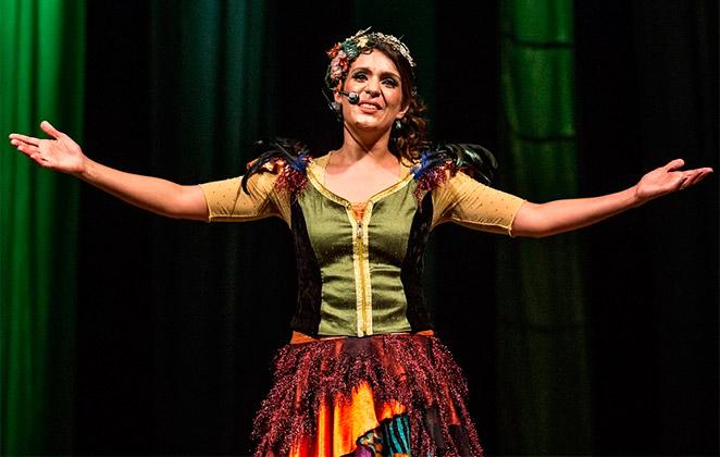 Carol Levy anima a criançada com shows na Caixa Cultural