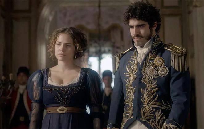 Novo Mundo: Pedro defende Leopoldina e expulsa amante
