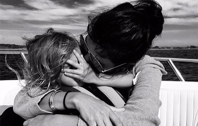 Kourtney Kardashian compartilha momentos fofos com os filhos