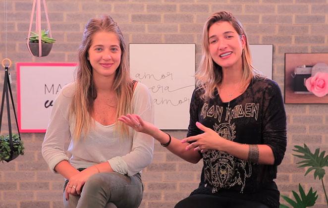Pugliesi entrevista irmã caçula e faz revelações da infância