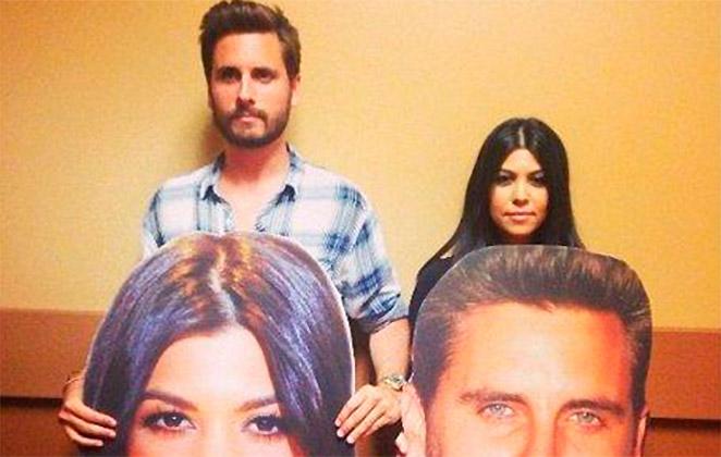 Kourtney Kardashian faz as pazes com Scott Disick