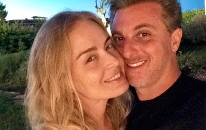 Angélica e Luciano Huck postam vídeo romântico