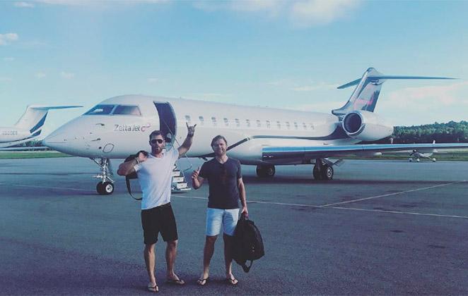 Chris Hemsworth publica foto e é 'trolado' por seguidores