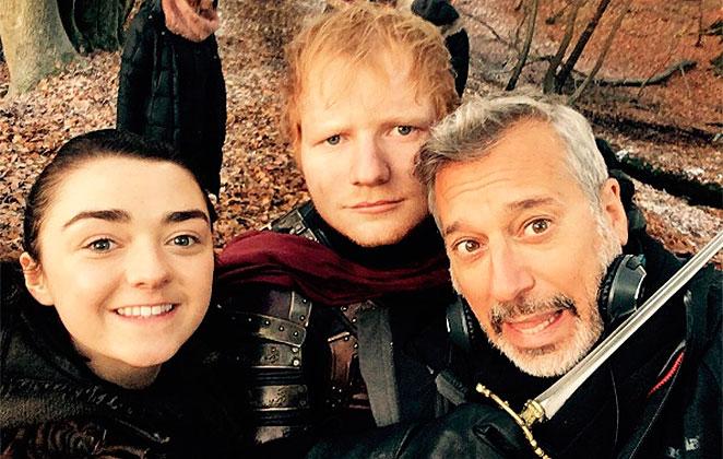 Ed Sheeran participa de Game of Thrones e a web pira