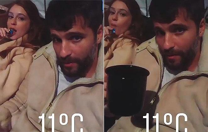 Bruno Gagliasso entrega 'gordice' de Marina Ruy Barbosa