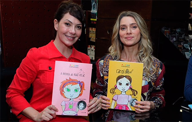 Leticia Spiller e Fabiula Nascimento lançam livros infantis