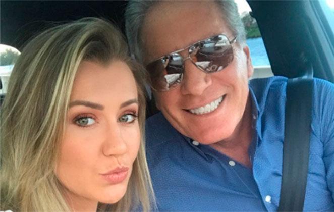 Roberto Justus e Ana Paula Siebert se despedem das férias