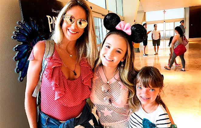 Tici Pinheiro e Rafa Justus se encontram com Larissa Manoela