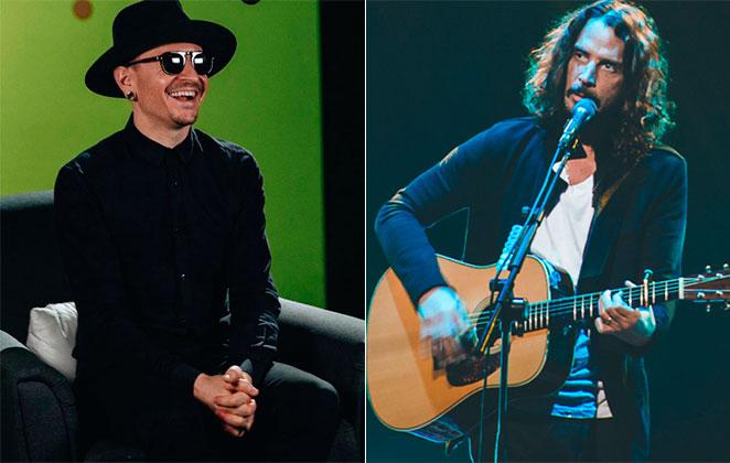 Chester Bennington homenageou Chris Cornell em funeral