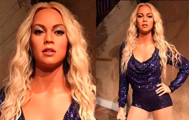 Fãs se revoltam com estátua de cera de Beyoncé