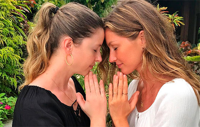 Gisele Bündchen homenageia a irmã gêmea em aniversário