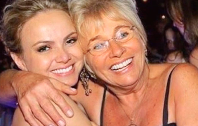 Internada, Eliana se declara para mãe na web