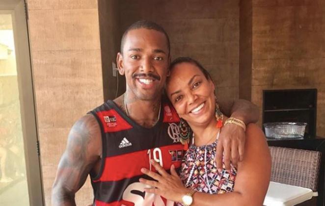 Nego do Borel e sua mãe