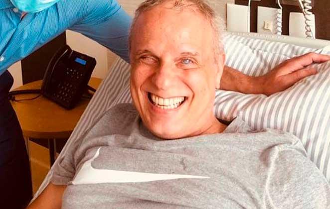 Dudu Braga sobre tratamento de câncer: 'Está tudo bem'