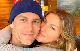 Selfie entre Gisele Bündchen e Tom Brady