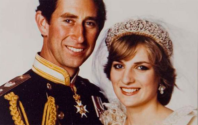 Principe Charle e Diana