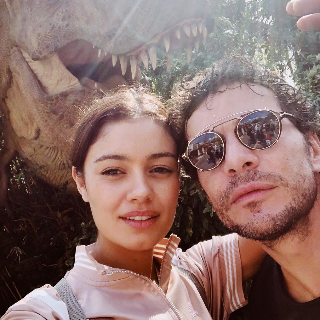 Sophie Charlotte e Daniel Oliveira