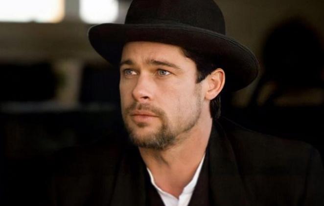 Brad Pitt de chapeu