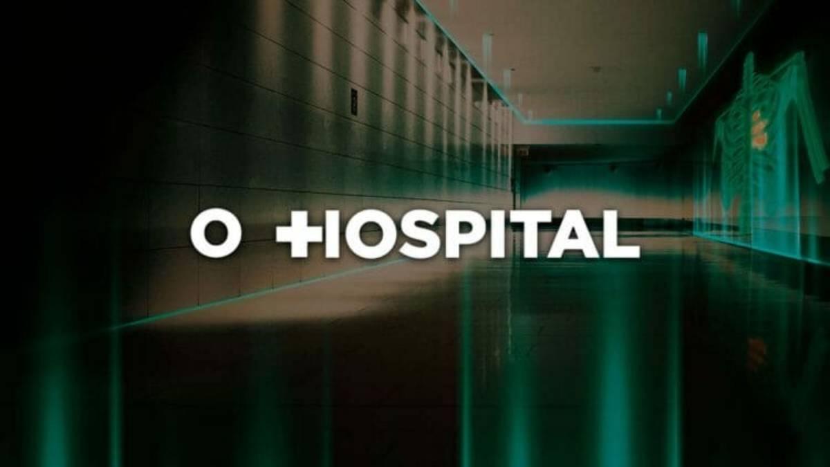 arte de capa da série o hospital