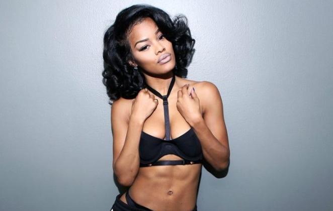 Teyana Taylor de roupa sexy