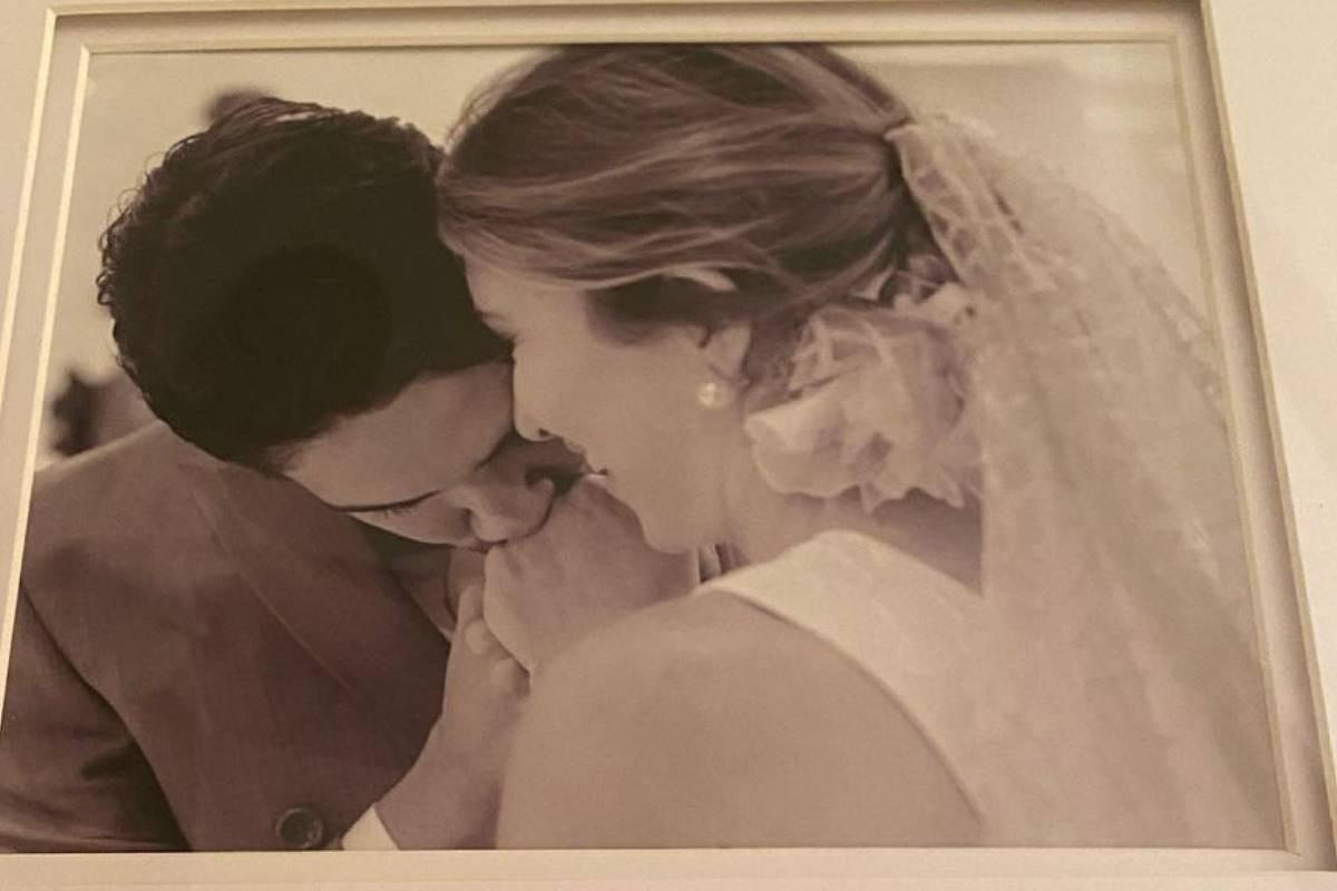 foto do casamento de alexandre pato e rebeca abravanel