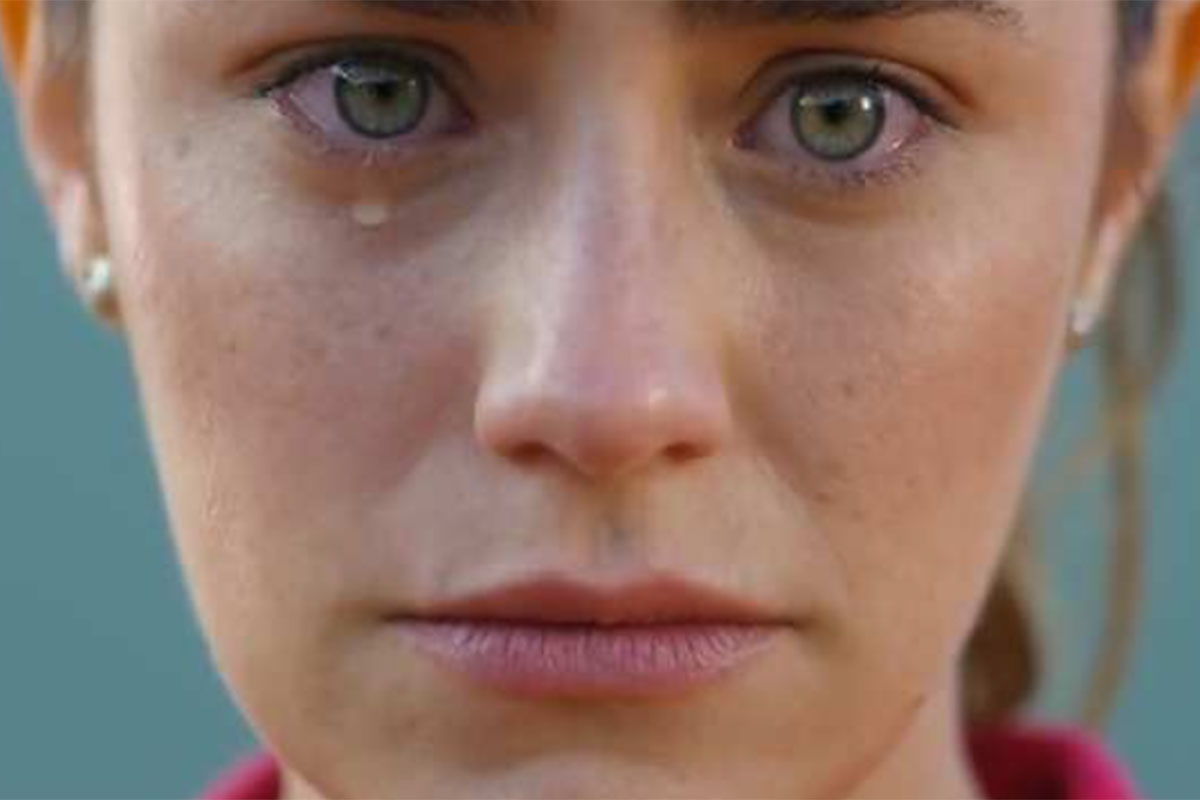 Ana chora em A Vida da Gente
