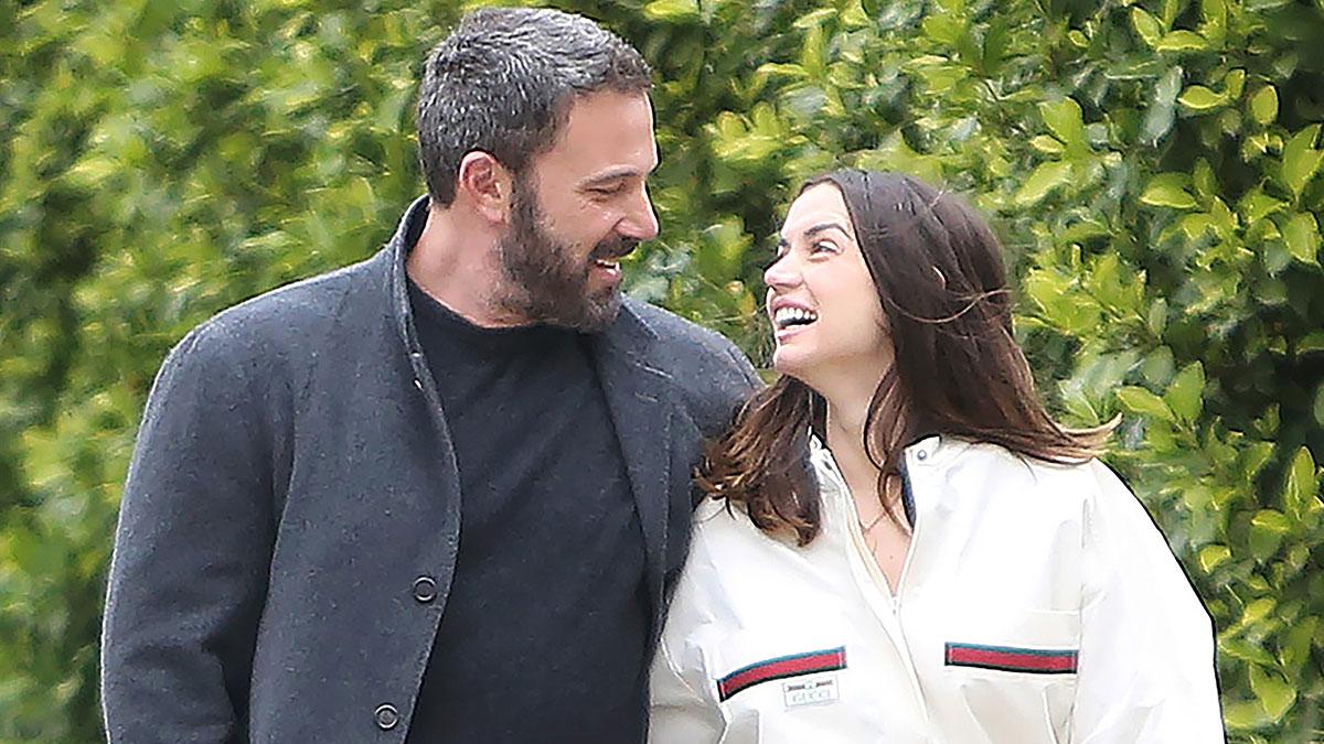Ben Affleck e a ex-namorada Ana de Armas